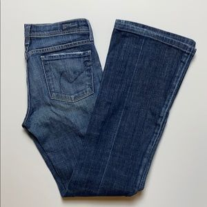 Citizens of Humanity flare jeans size 25